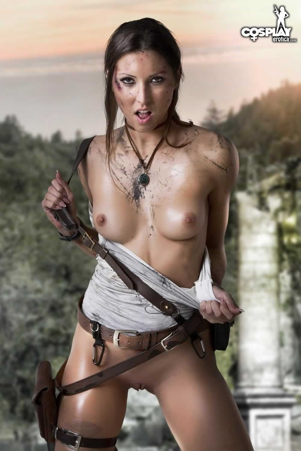 Sexy tomb raider cosplay nude sexy movies